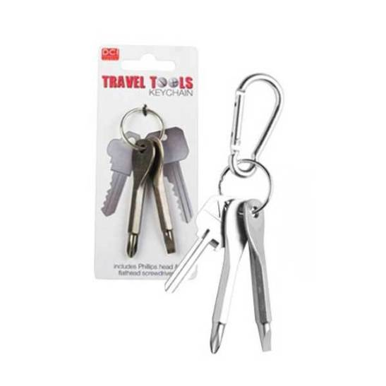 DCi Travel Tools Keychain