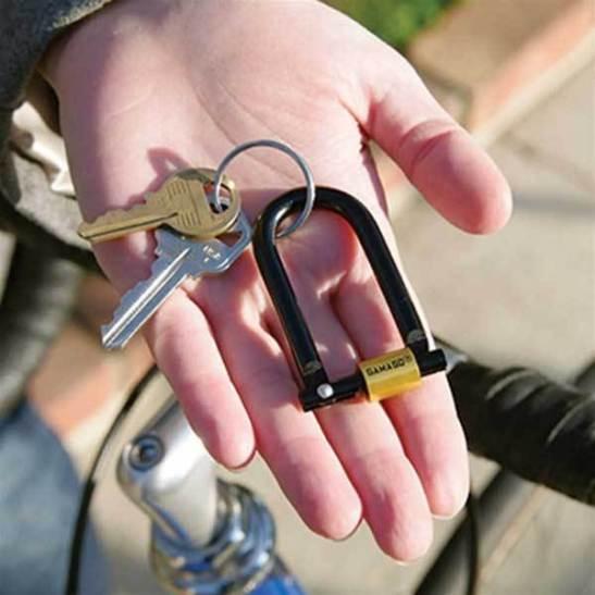 U-Lock Key ring