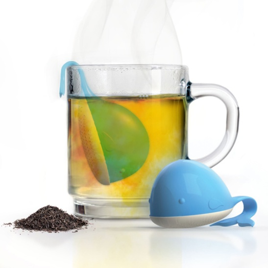 moby whale tea infuser