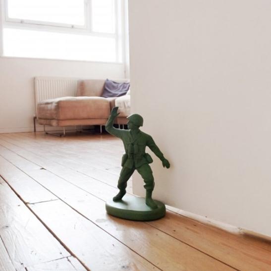 soldier door stop