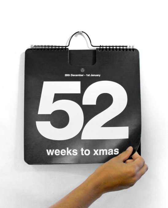 52 Weeks To Christmas Countdown Calendar