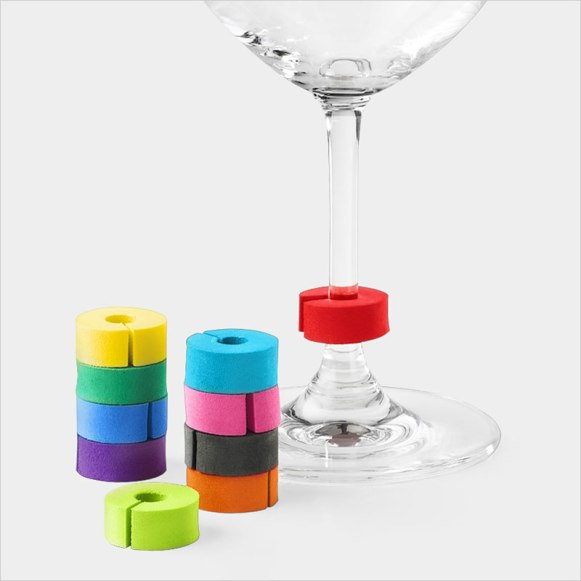 MoMA Stemarkers Wine Glass Markers