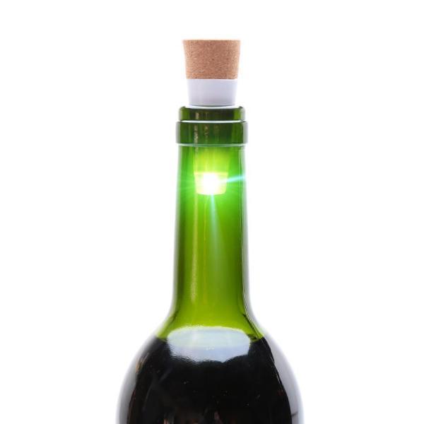 USB wine bottle LED lights