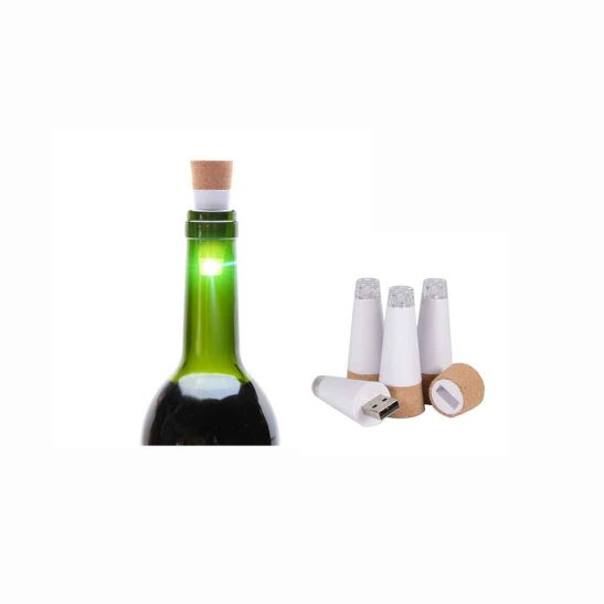 USB bottle LED light