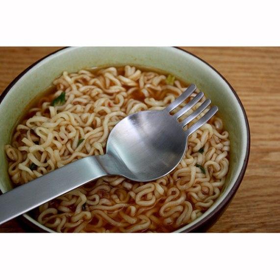 Moma ramen spoon fork